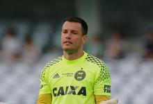 Wilson: guarda-redes é agora o batedor de penaltis do Coritiba após sete cobranças erradas