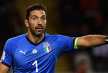 Gianluigi Buffon, 20 anos de seleção e 172 jogos: joga pela primeira vez com a camisola azul