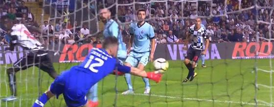 José Sá fechou baliza em desvio a investida de calcanhar – Boavista FC 0-3 FC Porto