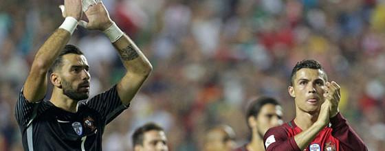 Rui Patrício: Portugal no Mundial'2018 com quatro golos sofridos na qualificação