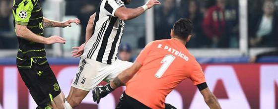 Rui Patrício aplicou-se e retardou derrota com seis defesas – Juventus FC 2-1 Sporting CP
