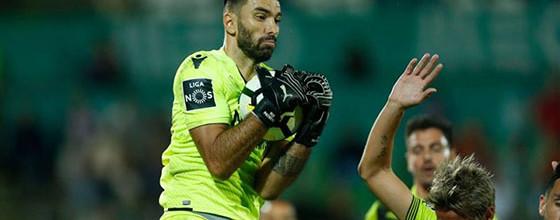 Rui Patrício é o guarda-redes da décima jornada da Primeira Liga 2017/2018