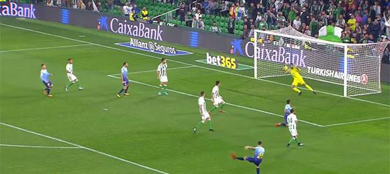 Antonio Adán e Yassine Bounou em nove defesas no Bétis 2-2 Girona FC