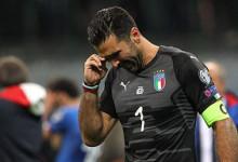 Gianluigi Buffon deixa seleção de Itália após derrota na qualificação para o Mundial