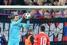 Igor Akinfeev regista segunda baliza inviolável em onze anos na Champions League