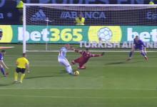 Ivan Cuéllar já tinha caído e ainda defendeu com a cara – Celta Vigo 1-0 CD Leganés