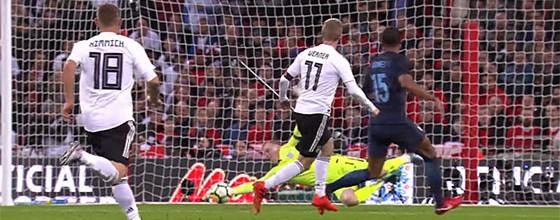 Jordan Pickford estreia-se e assina defesas de qualidade – Inglaterra 0-0 Alemanha
