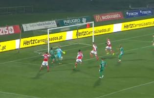 Matheus Magalhães faz defesa de qualidade no um-para-um – Rio Ave FC 1-0 SC Braga