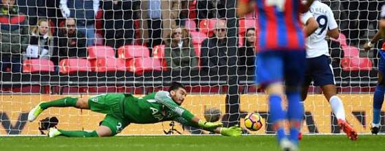 Paulo Gazzaniga estreia-se e após erros é o melhor em campo – Tottenham 1-0 Crystal Palace FC