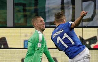 Robin Olsen: sete defesas colocaram a Suécia no Mundial'2018 e secaram a Itália