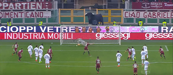 Stefano Sorrentino defende penalti e vale empate no Torino FC 1-1 Chievo