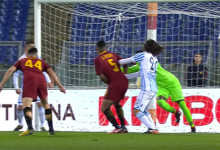 Alfred Gomis voa em doze defesas e Alisson Becker defende penalti no AS Roma 3-1 Spal