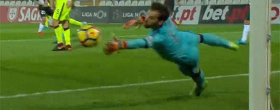 António Filipe fecha baliza em três defesas e permite vitória tardia – Portimonense SC 0-1 GD Chaves