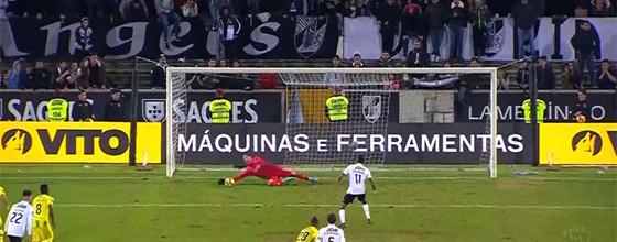 Cláudio Ramos defende penalti a três minutos do fim e dá triunfo – Vitória SC 0-1 CD Tondela