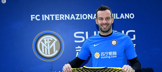 Samir Handanovic renova pelo FC Internazionale