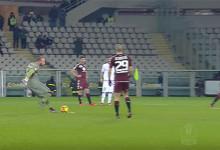 Vanja Milinkovic cobra livre à trave – Torino FC 2-0 Carpi