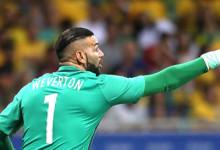 Weverton Pereira assina pelo SE Palmeiras