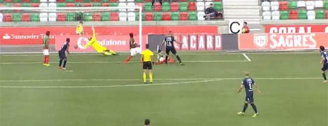 Charles Marcelo evita dois golos contra a trave – CS Marítimo 0-0 CF Os Belenenses