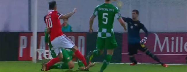 Jhonatan Luiz entre defesas de recurso e espetacularidade – Moreirense FC 0-2 SL Benfica