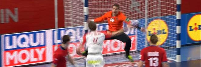 Martin Galia em exibição sensacional com dezassete defesas – República Checa 28-27 Dinamarca