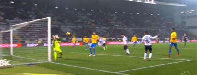 Renan Ribeiro evitou golo em última instância – Vitória SC 3-1 Estoril