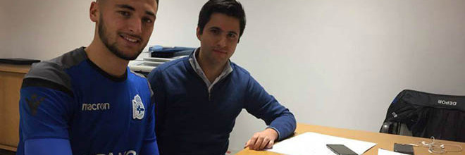 Ricardo Benjamim assina contrato profissional com o RC Deportivo
