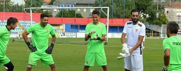 Tiago Castro substitui Vítor Pereira e regressa ao treino de guarda-redes do CD Aves