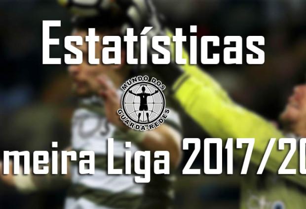 Estatísticas dos guarda-redes da Primeira Liga 2017/2018 – 18ª jornada