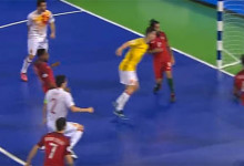 André Sousa conquista Europeu de Futsal para Portugal a quinze segundos do final