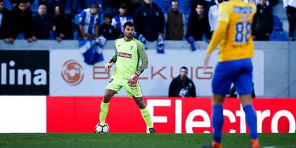 Renan Ribeiro é o guarda-redes da décima oitava jornada da Primeira Liga 2017/2018