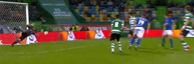 Rui Patrício destaca-se em duas defesas de qualidade – Sporting CP 2-0 CD Feirense