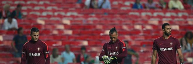 Anthony Lopes, Beto Pimparel e Rui Patrício convocados para jogos contra Egipto e Holanda