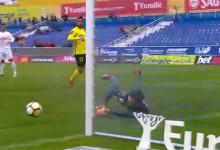 Mário Felgueiras destaca-se em defesa a evitar segundo golo – Estoril 1-1 FC Paços de Ferreira