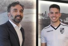 Sérgio Dutra assina contrato profissional com o Vitória SC aos dezasseis anos