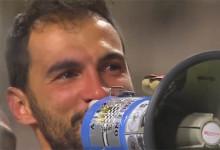 Vagner Silva emociona-se com apoio de adeptos do Boavista após empate com o CD Tondela (1-1)