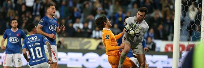André Moreira é o guarda-redes da 28ª jornada da Primeira Liga 2017/2018