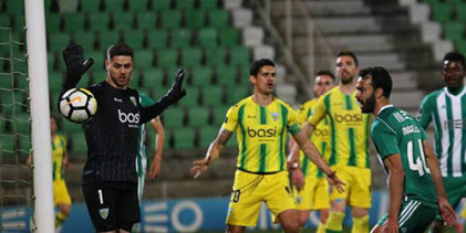 Cláudio Ramos é o guarda-redes da 30ª jornada da Primeira Liga 2017/2018