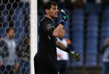 Iker Casillas festejou jogo mil na carreira no CF Os Belenenses 2-0 FC Porto