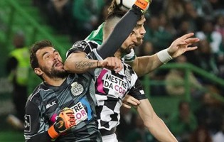 Vagner Silva é o guarda-redes da 31ª jornada da Primeira Liga 2017/2018