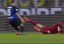 Andrea Consigli intervém bastante, adivinha e protagoniza defesa espetacular – FC Internazionale 1-2 Sassuolo