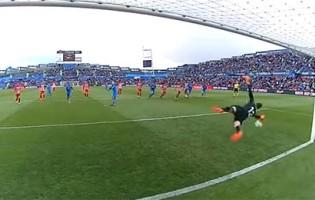 Jan Oblak defende sétimo penalti em doze enfrentados pelo Atlético de Madrid