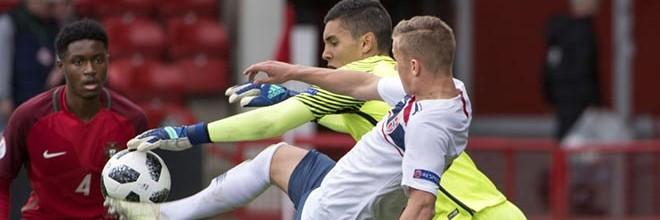 João Monteiro termina Europeu sub-17 com um golo sofrido em três jogos por Portugal