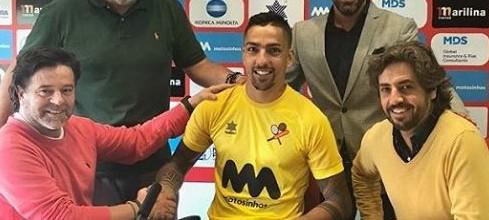 Rui Nibra assina pelo Leixões SC