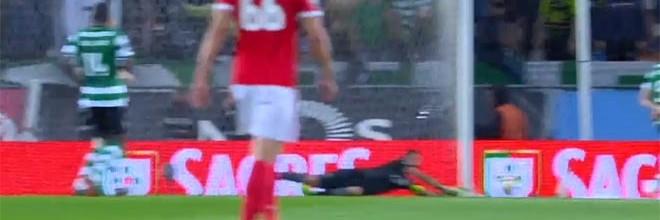 Rui Patrício destaca-se em três defesas em seis minutos – Sporting CP 0-0 SL Benfica