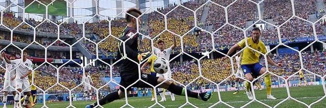Cho Hyun-Woo começa Mundial'2018 a titular e aparece em vários lances – Suécia 1-0 Coreia do Sul