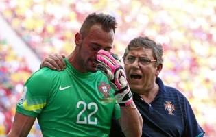 Mundial'2014: Beto Pimparel defende até às lágrimas após Rui Patrício sofrer (e Eduardo Carvalho ainda jogou)