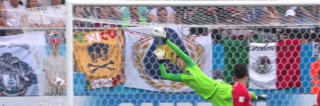 Cho Hyun-Woo voa em defesa espetacular – Coreia do Sul 1-2 México