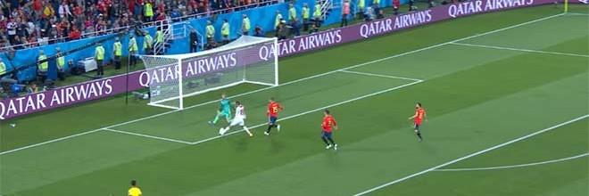 David De Gea: primeira defesa no Mundial'2018 surgiu 205 minutos depois