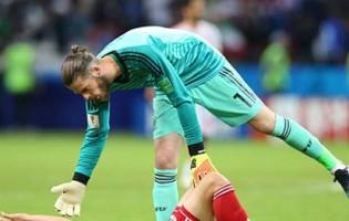 David De Gea não errou um passe e continua sem uma defesa no Mundial'2018