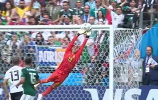 Guillermo Ochoa faz nove defesas e destaca-se em duas – Alemanha 0-1 México